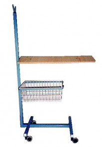 3204 - Transportation cart with wooden board