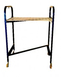 3211 - Transportation Trolley Z with wire removable shelf j