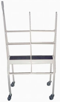 3217B - 3 levels trousers cart / stainless steel