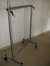3241 Stainless steel trolley for transporting of hangers
