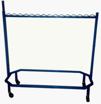 3306 - Cart for hanging transp. protection frame - Ironing room