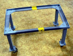 6094 Manipulation trolley for plastic box without wheels